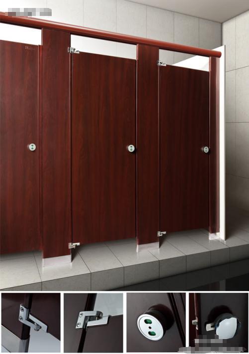 JY-K011写字楼洗手间通用抗倍特隔断