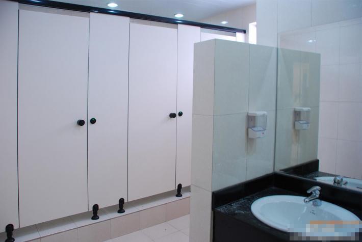 JY-K010公共洗手间抗倍特卫生间隔断