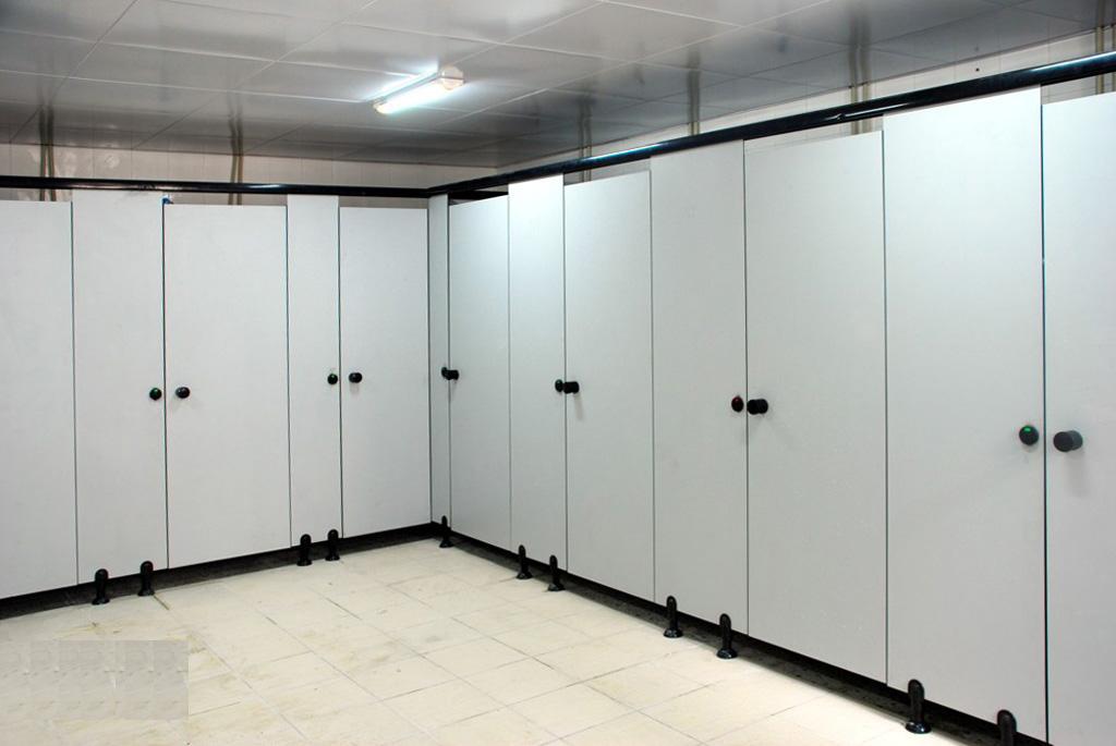 JY-K012企业单位通用抗倍特洗手间隔断